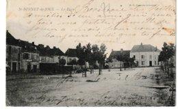 Saône Et Loire SAINT BONNET DE JOUX La Place  (Roulottes?) - Altri Comuni