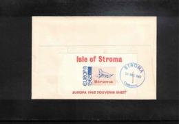 Isle Of Stroma 1962 Europa Cept FDC - Europa-CEPT