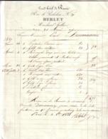 PARIS - GRAND HÔTEL DE RUSSIE , RUE RICHELIEU N° 29  - REBLET , MARCHAND TAILLEUR - 1831 - 1800 – 1899