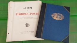 Lot N° TH.1111  ETATS UNIS Un Album Et Un Classeur Neufs * / ** Quelques Obliteres - Collezioni (in Album)