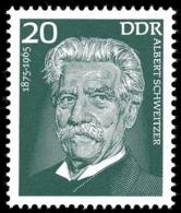 DDR 1975 MNH, Albert Schweitzer, Nobel Peace - Albert Schweitzer