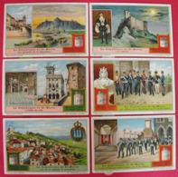 6 Chromo Liebig : La République De Saint-marin. 1914. S 1102. Chromos - Liebig