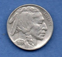 USA  -  5 Cents 1936  --  état  TB - Federal Issues