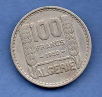 Algérie   -  100 Francs 1950  --  état  TTB - Algeria