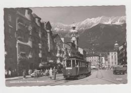 BA113 - AUTRICHE - Innsbruck Maria Theresien - Strasse - Tramway - Innsbruck