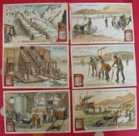 6 Chromo Liebig : La Glace. 1903. S 734. Chromos - Liebig