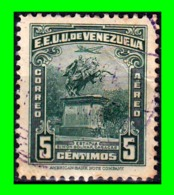 "VENEZUELA SELLOS AÑO 1940-44 REPUBLICA DE VENEZUELA: "" STATUE OF SIMO'N BOLIVAR CARACAS0 "" - Venezuela"