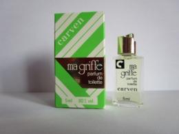 CARVEN - MA GRIFFE  - PDT - 5 Ml - Miniature - Miniatures Femmes (avec Boite)