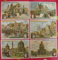 6 Chromo Liebig : Monuments De Style Baroque. 1913. S 1074. Chromos - Liebig