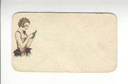 PARFUM PERFUMED AZUREA PIVER PARIS CALENDRIER 1927 CALENDAR /FREE SHIPPING R - Calendarios