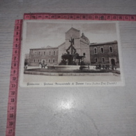 C-77572 GIOVINAZZO FONTANA MONUMENTALE DI BRONZO OPERA SCULTORE PROF. PISCITELLI PANORAMA - Italie