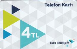 TURKEY - Telefon Kartı , Şubat 2019 (Glossy Card), C.H.T. - CHT05 , 4 ₤ - Turkish Lira ,02/17, Used - Turquie