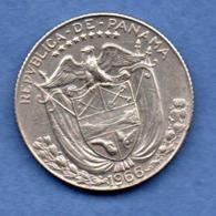 Panama  -  1/4 Balboa  1966   -  état  TTB - Panama