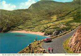 Irlande - Mayo - Achill Island - On The Road To Keem Strand - Automobiles - Ireland - Voir Scans Recto-Verso - Mayo