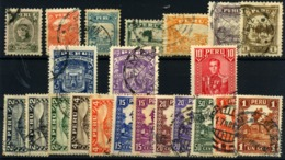 Perú Nº 259/63A, 271/72, 279/91. Año 1831/35 - Peru