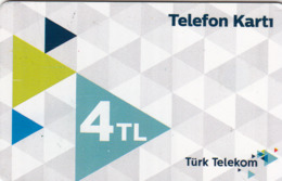 TURKEY - Telefon Kartı , Haziran 2018, C.H.T. - CHT05 , 4 ₤ - Turkish Lira ,06/16, Used - Turquie