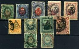 Perú Nº 54/6, 58, 59, 62/4, 65, 67. Año 1882/83 - Peru