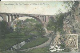 Luxembourg,Le Pont Adolphe Et Vallée De La Pétrusse 1908 - Luxemburg - Stad