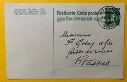 9149 -  Le Sentier Pour Brassus 4.06.1914 - Entiers Postaux