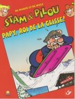 België - Belgium - Belgique Stam & Pilou 23 - Papy, Roi De La Glisse - 2009 - Documents Of Postal Services