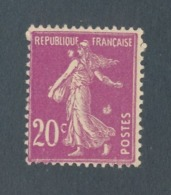 FRANCE - N°YT 190 NEUF* AVEC CHARNIERE AVEC BELLES VARIETES A ETUDIER - Curiosities: 1921-30 Mint/hinged