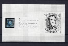 N°7 (plaat II Positie 15) GESTEMPELD MET 4 MARGES SUPERBE - 1851-1857 Medallions (6/8)