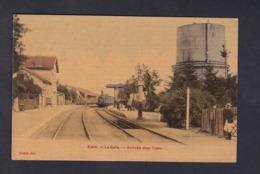 Etain (55) La Gare - Arrivee D'un Train ( Chemin De Fer Animée Toilée Colorisée  Ed. Lemesie ) - Etain