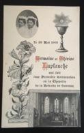 Saumur Laplanche 1903 Belle Image Pieuse Religieuse Communion Chapelle Retraite - Saumur