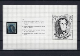 N°7 (ntz) (plaat II Positie 47) GESTEMPELD - 1851-1857 Medallions (6/8)