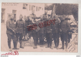 Au Plus Rapide Carte Photo Suisse Militaire Ecole Sous-officiers Reinach Bâle - Weltkrieg 1914-18