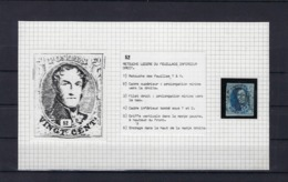 N°7 (plaat II Positie 52) GESTEMPELD MET 4 MARGES SUPERBE - 1851-1857 Médaillons (6/8)