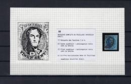 N°7 (plaat II Positie 56) GESTEMPELD MET 4 MARGES SUPERBE - 1851-1857 Médaillons (6/8)