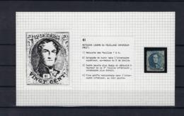 N°7 (ntz) (plaat II Positie 61) GESTEMPELD - 1851-1857 Medallions (6/8)