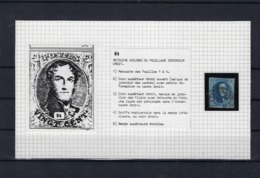 N°7 (ntz) (plaat II Positie 64) GESTEMPELD - 1851-1857 Medallions (6/8)