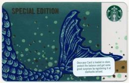 IRELAND - IRLANDE - IRLAND - IRLANDA STARBUCKS CARD MERMAID MINT UNUSED - Gift Cards