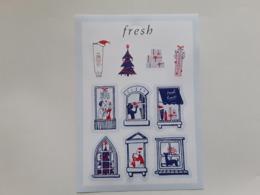 "FRESH""  Planche De 10 Stickers   ""  Photo  ! - Perfume Cards"