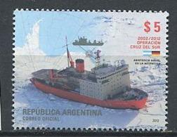 254 ARGENTINE 2012 - Yvert 2954 - Bateau Brise Glace - Neuf ** (MNH) Sans Charniere - Unused Stamps