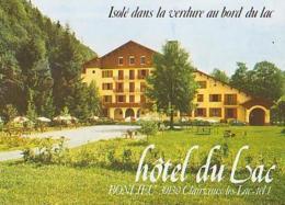 Jura        H166        Bonlieu.Hôtel Du Lac ( 4 Vues ) - Arbois