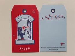 "FRESH  "" Étiquette Cadeau  ""  Photo R/V  ! - Perfume Cards"