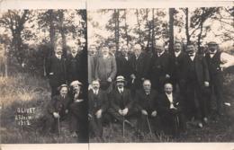 OLIVET - Carte Photo - 27 Juin 1912 - Personnages - Frankreich