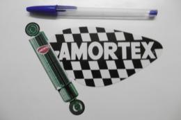 Autocollant Stickers - Publicité Marque De Pièces Automobiles : Amortisseurs Automobile AMORTEX - Stickers