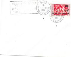 """Buea 1 -10 1961 """"Répunlique Fédérale Du Cameroun Réunification 1er Octobre 1961"""" - Cameroon (1960-...)"""