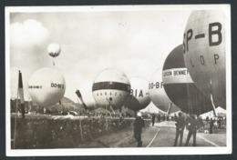 +++ CPA - International Balloon Race - Holland - Balloonclub - AMSTERDAM - Ballon - Montgolfière - 1956  // - Montgolfières
