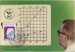 Maximaphilie - Economie : Le Conseil Central De L'Economie (1949-1974). Postzegelclub Van Nossegem, 12/10/1974. - Commerce