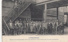 CHARLEROI / CHARBONNAGES / ATTENTE POUR LA DESCENTE - Charleroi