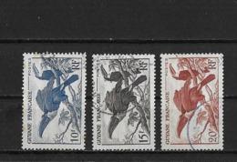 Guyane Yv. 213 - 215 O. - Guyane Française (1886-1949)