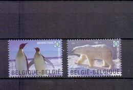 3884/85 POLAR REGIONS POSTFRIS** 2009 - Belgien