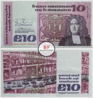 Ireland | 10 Pounds | 1988 | P.72c | Prefix - GAH | AUNC - Ierland