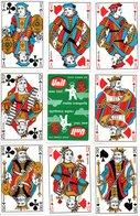 Jeu De 32 Cartes A Jouer Publicitaire UNIL - Playing Card - 32 Cards