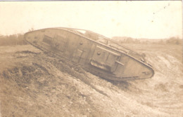 Cpa Photo Tank Anglais   -D- - Equipment